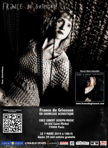 web-affiche showcase France de Griessen 7 mars