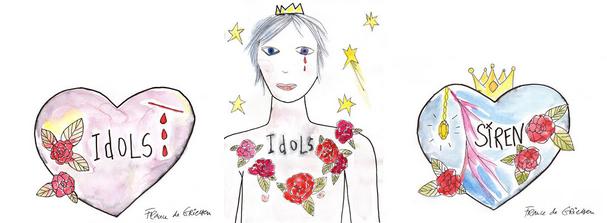 idols France de Griessen - trio-web