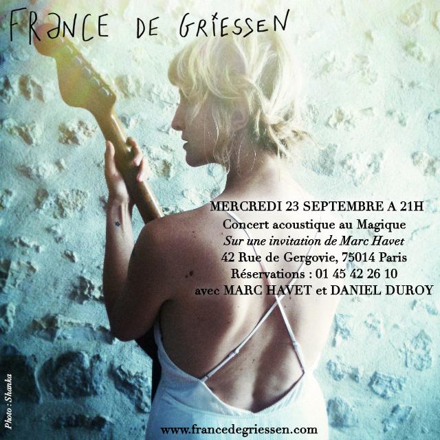 France de Griessen - Magique